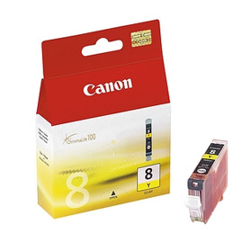 Canon CLI8Y Yellow Cartridge