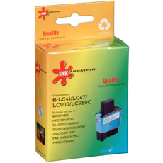 Brother LC47C Cyan Ink Cartridge (Remanufactured)
